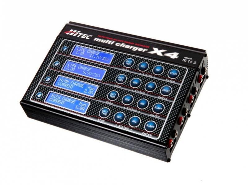 Hitec multi charger x4